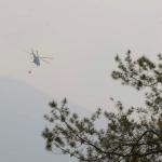 Buscan a sobrevivientes de helicóptero que cayó en Querétaro - helicóptero marina