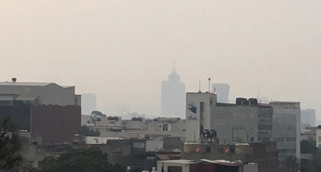 Al menos 18 incendios provocaron olor a quemado en la Ciudad de México - Foto de @fa884a9c4e2346d