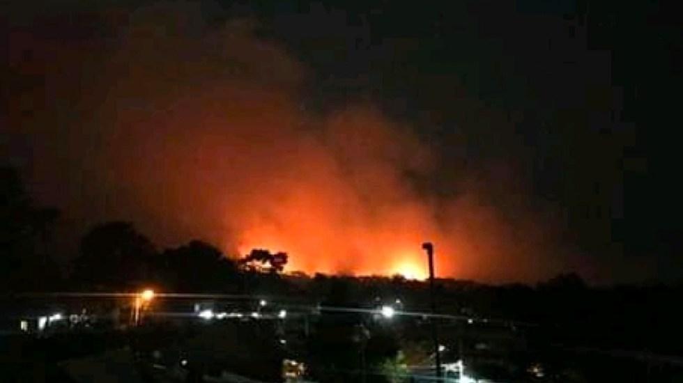 Incendio en Michoacán consume más de 50 hectáreas de bosque - incendio michoacán