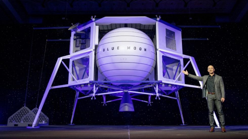 Así es la nave espacial con la que Jeff Bezos buscará llegar a la Luna - Foto de Blue Origin