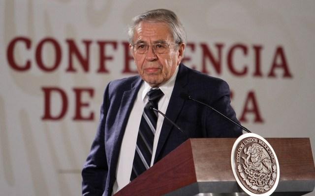 Abasto de antirretrovirales está garantizado: Jorge Alcocer - orge Alcocer en conferencia sobre antirretrovirales. Foto de Notimex