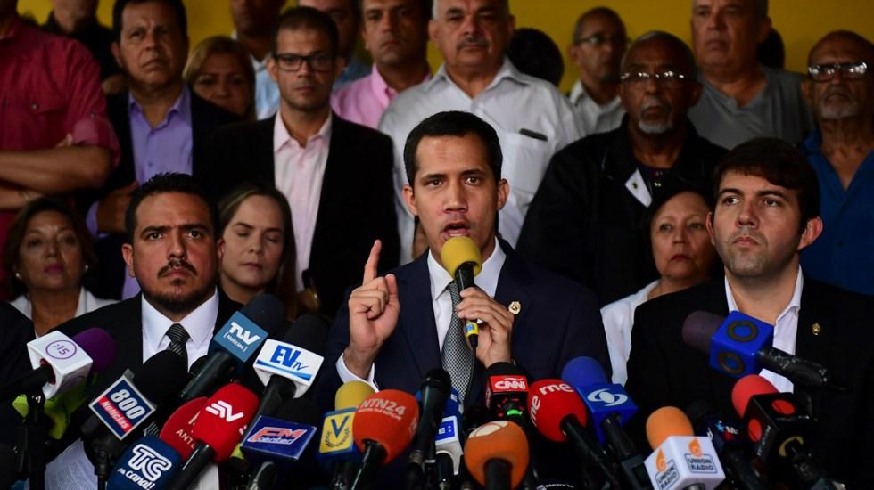 Juan Guaidó niega negociaciones con gobierno de Nicolás Maduro - Juan Guaidó