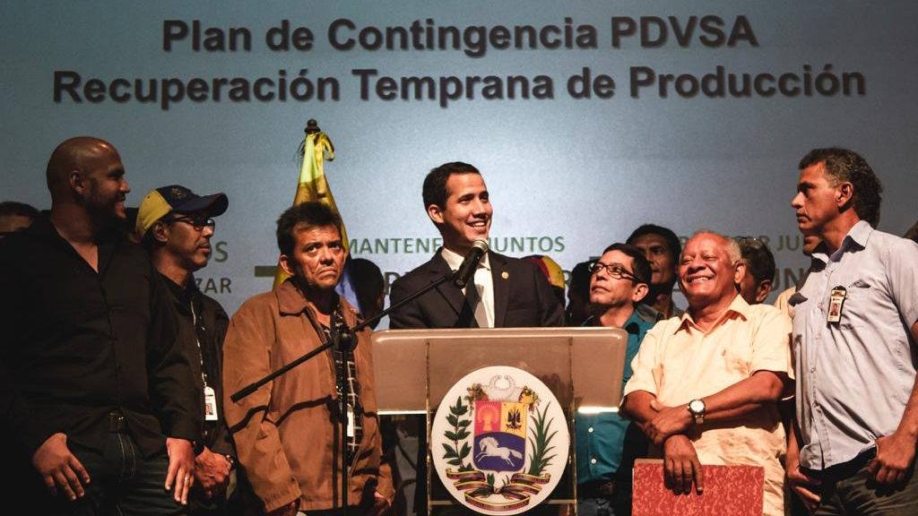 Amenaza de guerra detener a López en embajada española: Guaidó a Maduro - Foto de @jguaido