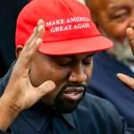 Liberales 'bullean' a simpatizantes de Trump: Kanye West - kanye west maga