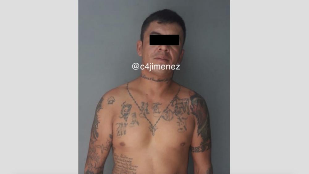 Capturan a sujeto que asaltó a equipo de filmación en Azcapotzalco - Foto de @c4jimenez