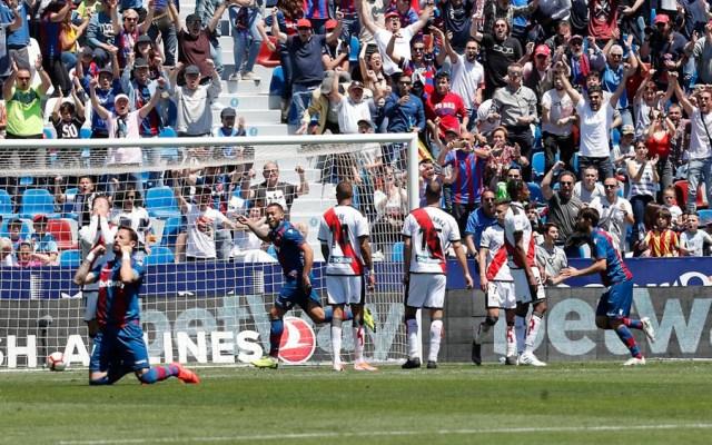 Levante golea y casi manda al Rayo Vallecano a Segunda División - levante rayo vallecano