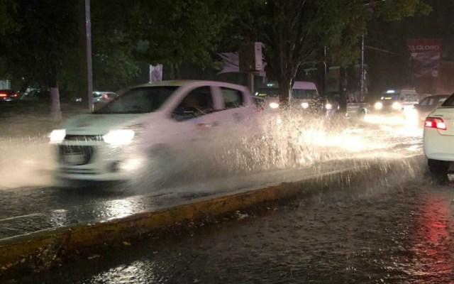 Nuevas afectaciones en Morelia por la lluvia de este viernes - Foto de Quadratín