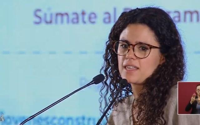 Suman más de 501 mil aprendices en Jóvenes Construyendo el Futuro - Luisa María Alcalde. Captura de pantalla