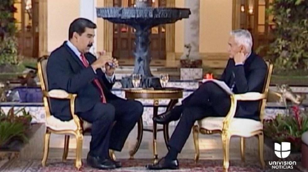 Te vas a tragar con Coca Cola tu provocación: Maduro a Jorge Ramos - Foto de Univision