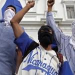 En arresto domiciliario 100 manifestantes detenidos en Nicaragua - Foto de AFP