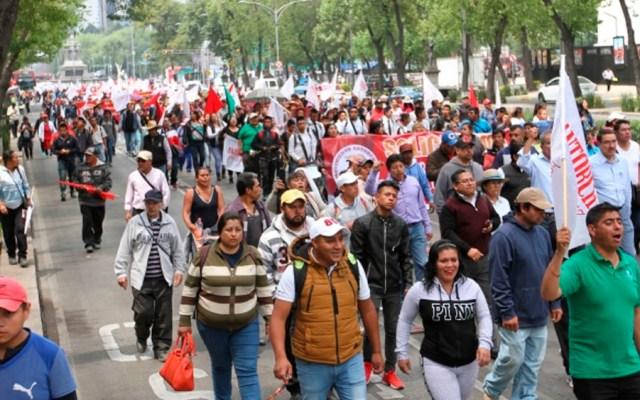 Prevén dos manifestaciones este sábado en la Ciudad de México - manifestaciones