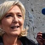 Extrema derecha de Le Pen aventaja en elecciones europeas en Francia - Parlamentarista y líder del movimiento de extrema derecha agrupación nacional, Marine Le Pen, tras votar en las elecciones europeas. Foto de DENIS CHARLET / AFP.