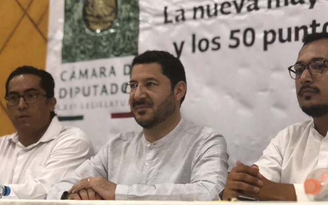 Batres propone que informe de senadores llegue a ciudadanos - Foto de Martí Batres