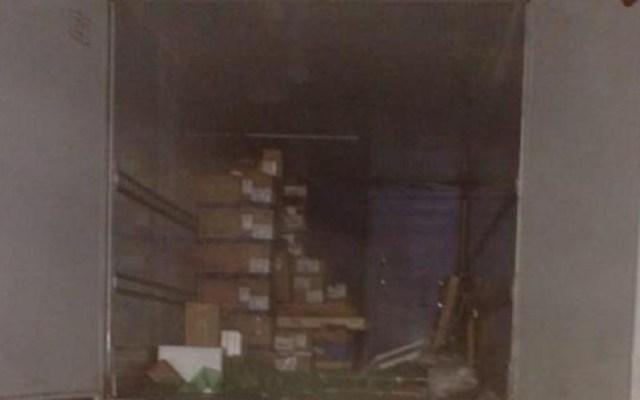 FGR recupera 103 cajas de medicinas robadas en Veracruz - Medicinas robadas recuperadas por la FGR. Foto de @fgrmexico