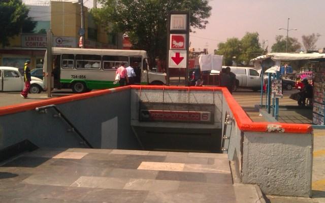 Muere hombre en inmediaciones del Metro Azcapotzalco - Metro Azcapotzalco