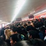 Saturadas ocho de las 12 líneas del Metro - saturación líneas metro