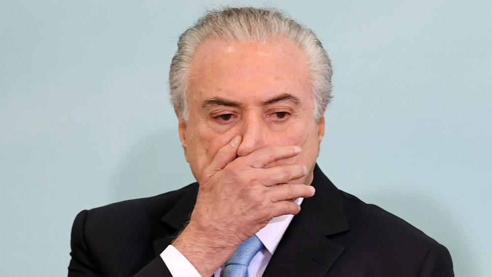 Expresidente brasileño Temer se entrega a justicia brasileña - Foto de AFP