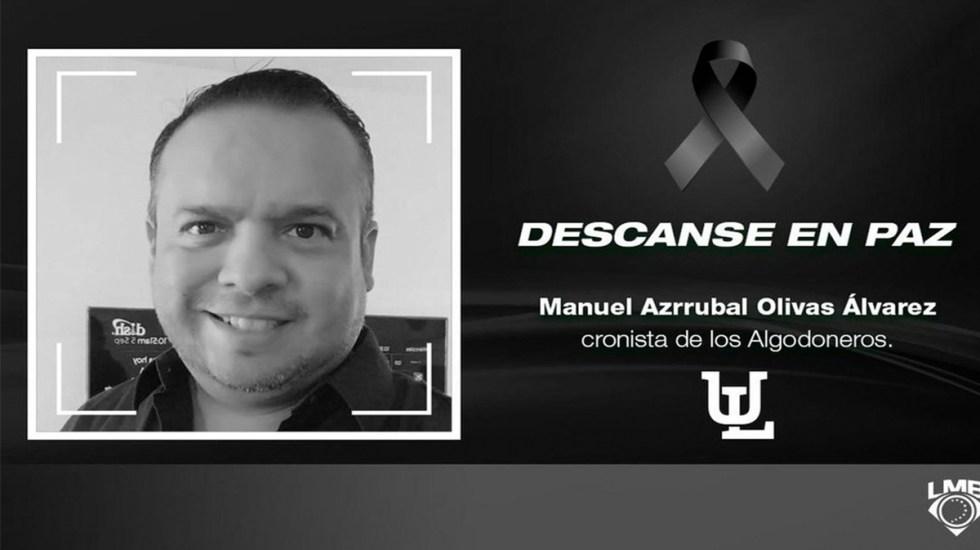 Hallan muerto en hotel de Iztapalapa a cronista de beisbol - muerte cronista de beisbol