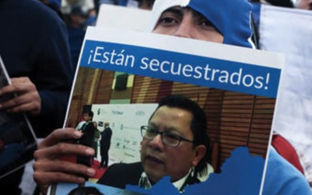 Suspenden nuevamente juicio contra periodistas en Nicaragua - Foto de AFP