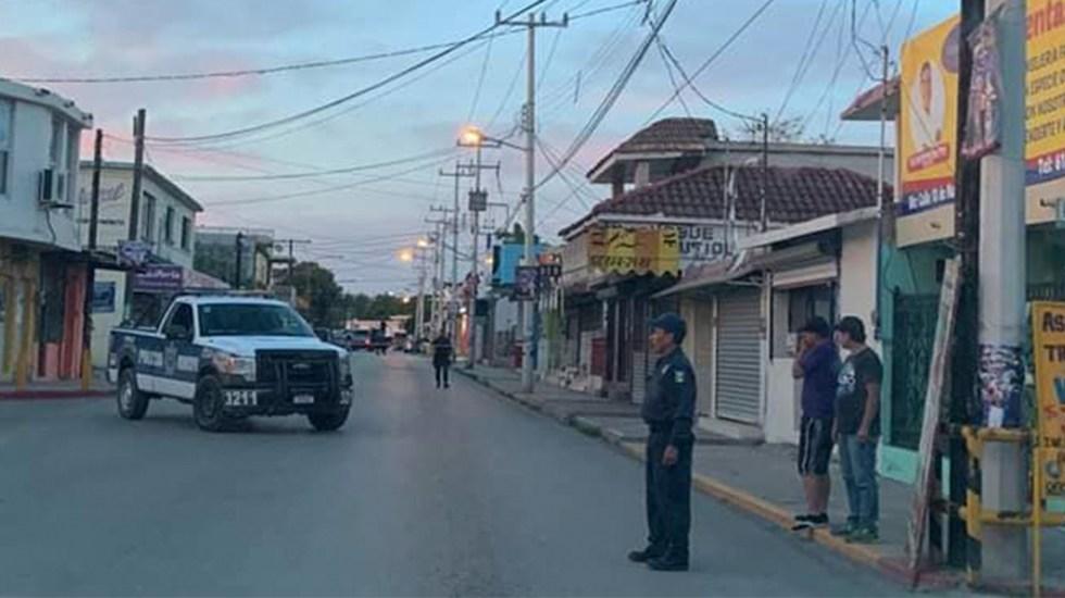 Hallan cinco cuerpos afuera de oficinas de policía en Coahuila - Foto de Facebook/NotiFree Coahuila.