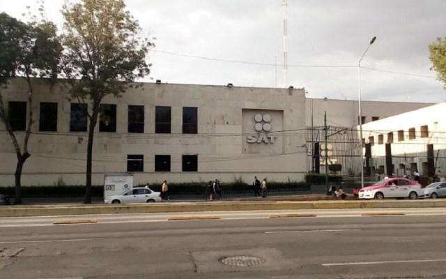 Coparmex y CCE respaldan eliminación de condonación de impuestos - Oficinas centrales del SAT. Foto de Jorge Luis / Google Maps