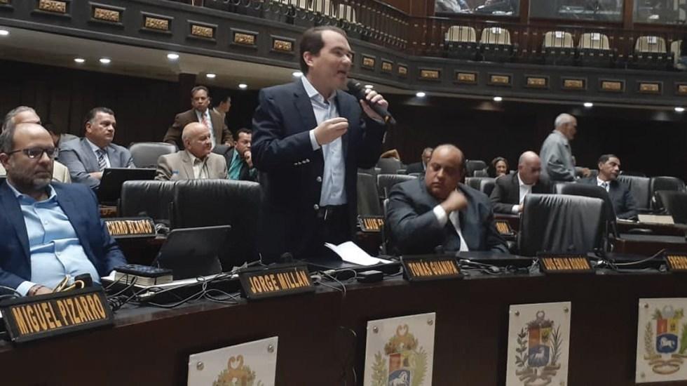 Oposición venezolana retoma actividades en el Parlamento - Foto de @Presidencia_VE