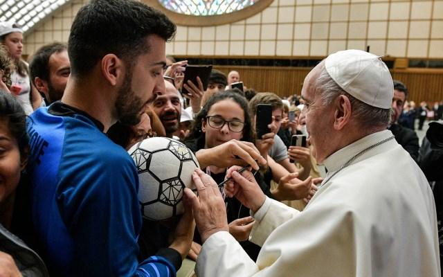 Papa Francisco recibe a 6 mil jóvenes deportistas en el Vaticano - Papa Francisco jóvenes Vaticano