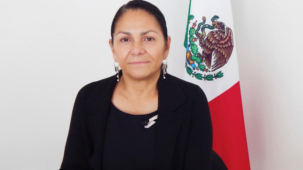 Deja Patricia Bugarín subsecretaría de seguridad - Patricia Bugarin Gutiérrez. Foto de Segob.