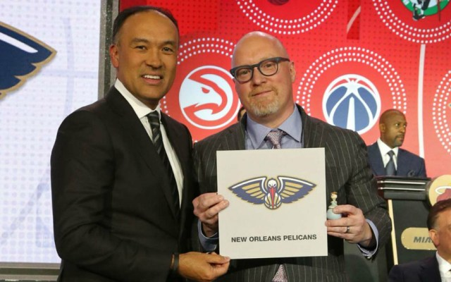 New Orleans gana lotería de la NBA y elegirá primero en el Draft - Foto de NBA