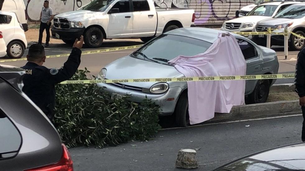 Balacera en Periférico Sur deja un muerto - Foto de @10Denizzia
