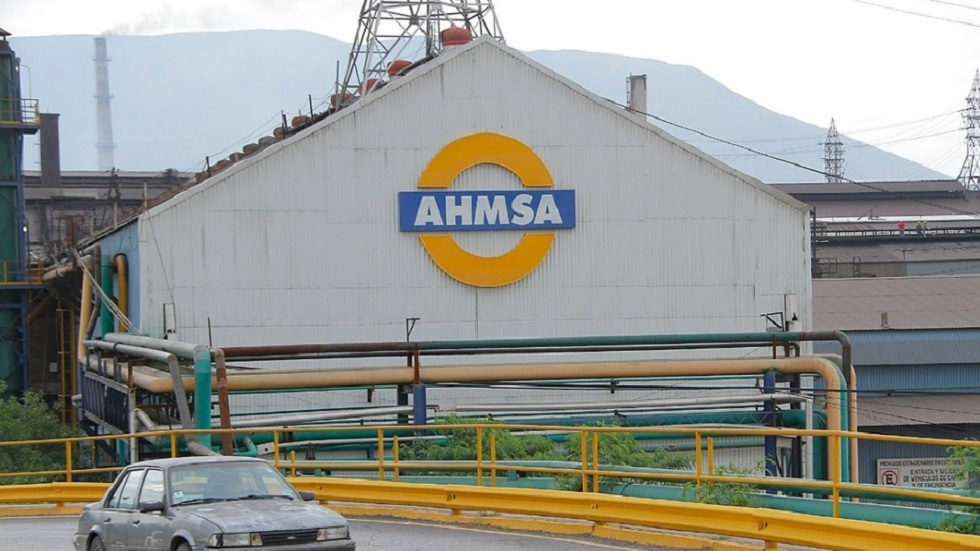 Asegura AHMSA que cumplió acuerdo reparatorio con Pemex por Caso Agronitrogenados - Planta de Altos Hornos de México en Monclova. Foto de Milenio