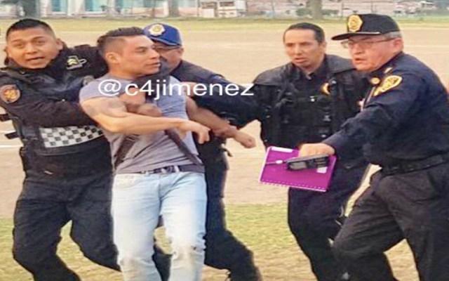 Liberan a policía que baleó accidentalmente a homicida en GAM - policía delincuente gustavo a madero