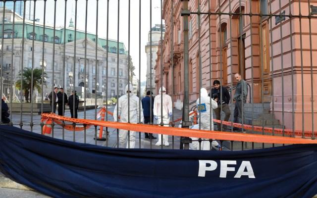 Desalojan presidencia y Congreso de Argentina por amenaza de bomba - Foto de AFP