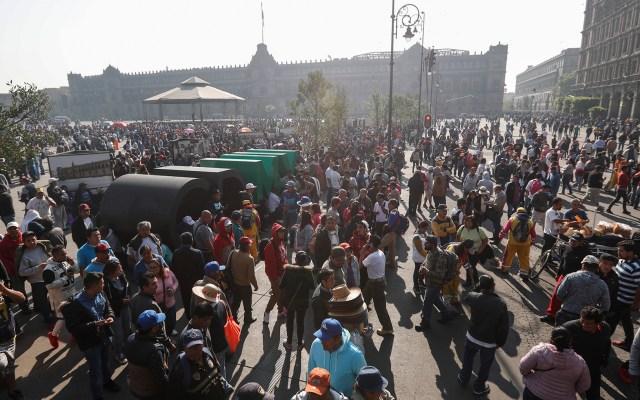 Al menos ocho manifestaciones en la Ciudad de México - manifestaciones