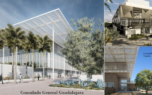 Estados Unidos tendrá nuevos consulados en dos estados de México - Proyecto de los nuevos consulados de EE.UU. en México. Foto de @USEmbassyMEX