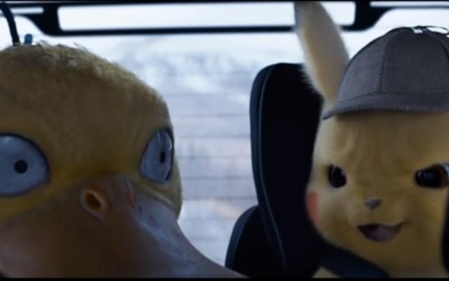 Nuevo tráiler de 'Detective Pikachu' muestra peleas entre Pokémones - Pokémon Detective Pikachu Psyduck