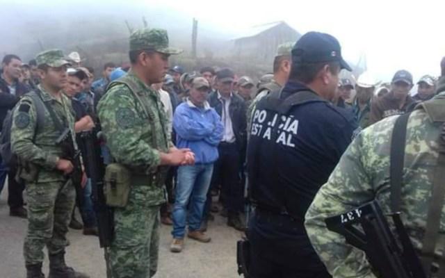 Retienen a elementos del Ejército y policía estatal en Guerrero - ejercito soldados