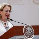 Renuncia Josefa González Blanco a la Secretaría de Medio Ambiente