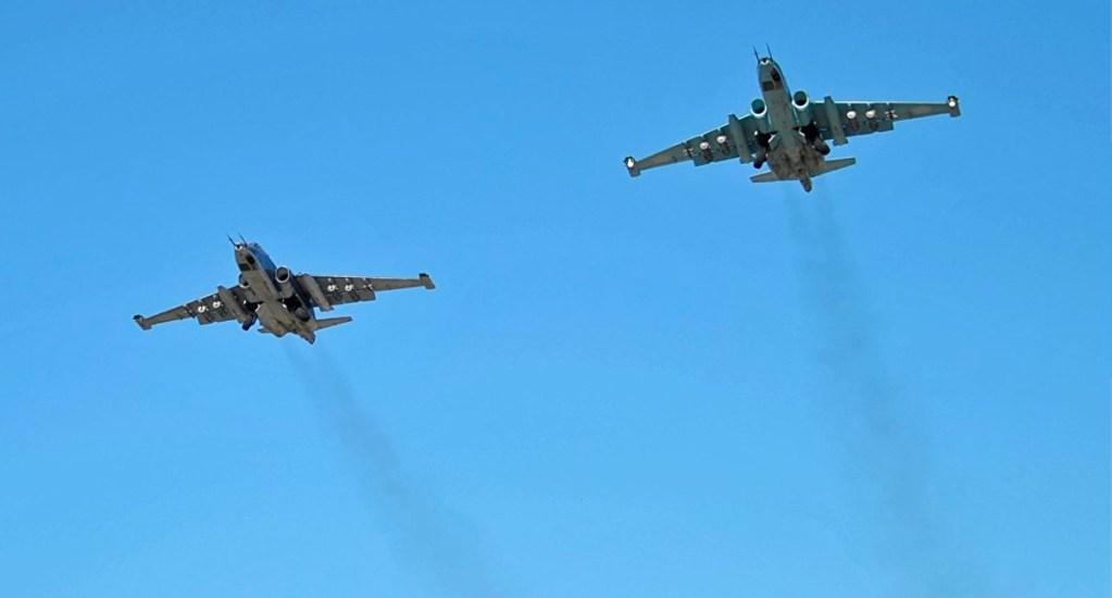 Al menos 10 civiles muertos en Siria por ataque aéreo ruso - ataque aéreo