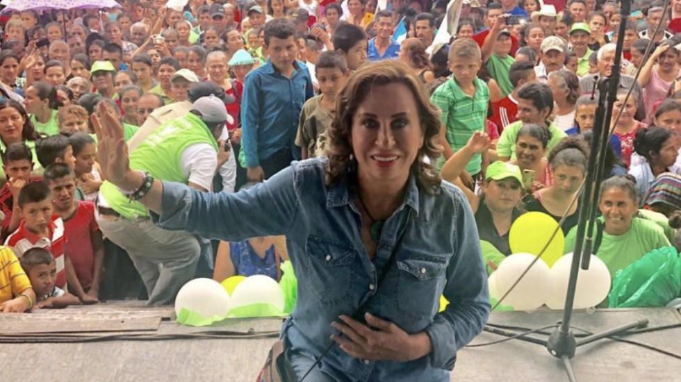 Polémica en Guatemala tras decisión judicial que impide a diario informar sobre candidata - Foto de @SandraTorresGUA