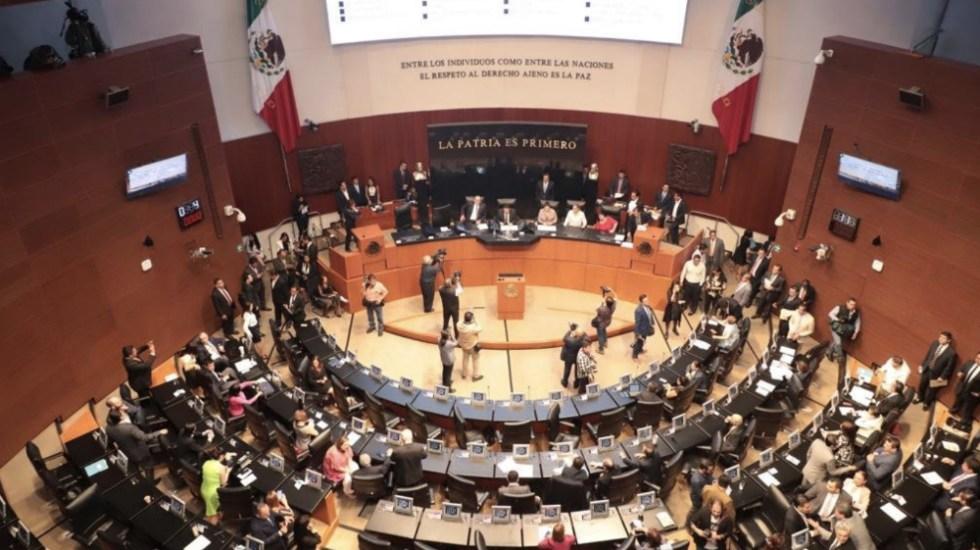Senado cierra sesión sin acuerdo en leyes secundarias de Guardia Nacional - Foto de @CanalCongreso