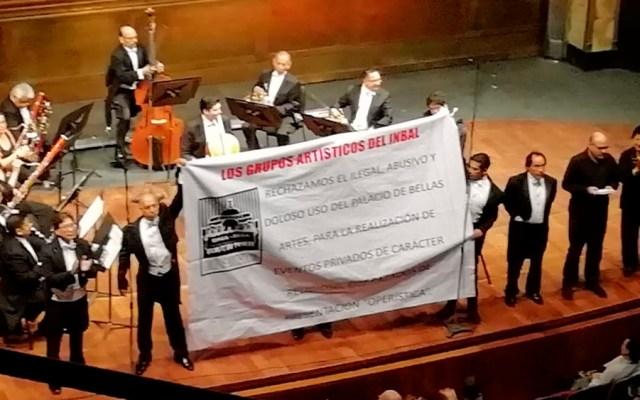 Sinfónica Nacional rechaza proselitismo religioso en Bellas Artes - sinfónica inbal bellas artes