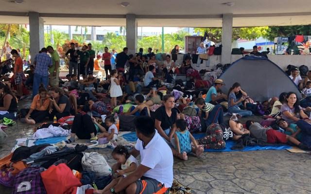 Políticas migratorias de México y EE.UU. no son iguales: CNDH - Tapachula migrantes Chiapas
