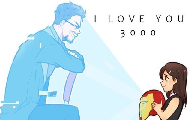 'Te amo 3000' de Avengers: Endgame podría tener significado oculto - Ilustración inspirada en la frase 'Te amo 3000'. Foto de @laizy_boy04