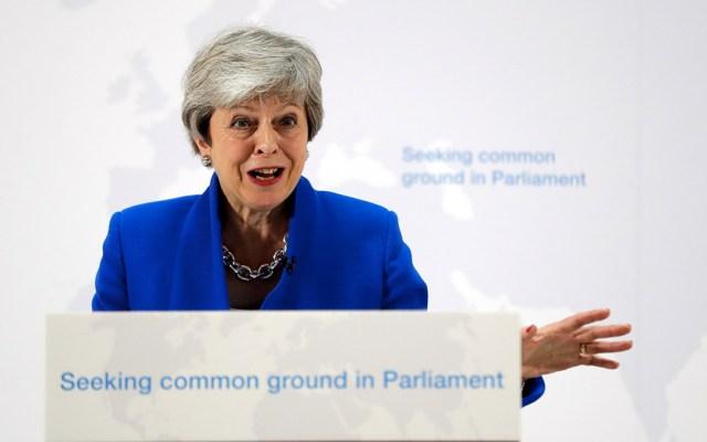 """Theresa May presenta acuerdo de """"última oportunidad"""" sobre el Brexit - Theresa May acuerdo Brexit"""