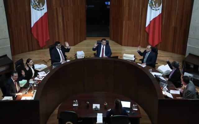Respetamos decisión del TEPJF de declarar inconstitucional la Ley Bonilla, asegura AMLO - Tribunal Electoral del Poder Judicial de la Federación. Foto de Archivo TEPJF.