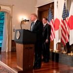 Trump busca estrechar lazos económicos con Japón - trump japón