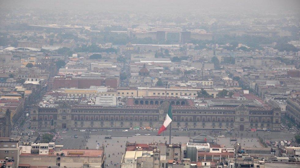 Se mantiene contingencia ambiental atmosférica extraordinaria en el Valle de México - Foto de Alejandro Guzmán / Notimex.