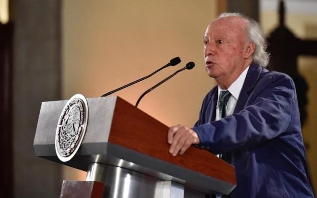 Víctor Manuel Toledo advierte desafíos para 2050 - Víctor Manuel Toledo en conferencia de AMLO. Foto de @TereZazueta
