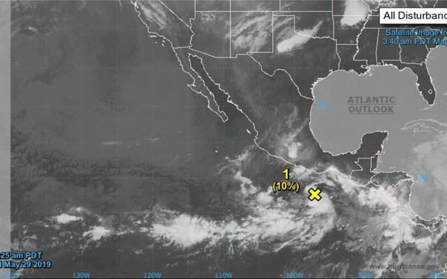 Zona de inestabilidad con potencial ciclónico avanza hacia Oaxaca - zona de inestabilidad méxico